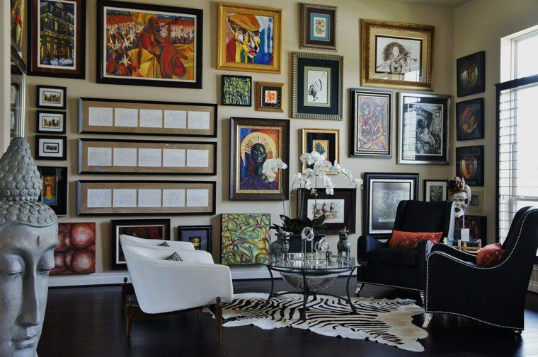 pared-cuadros-estilo-boho-ideas