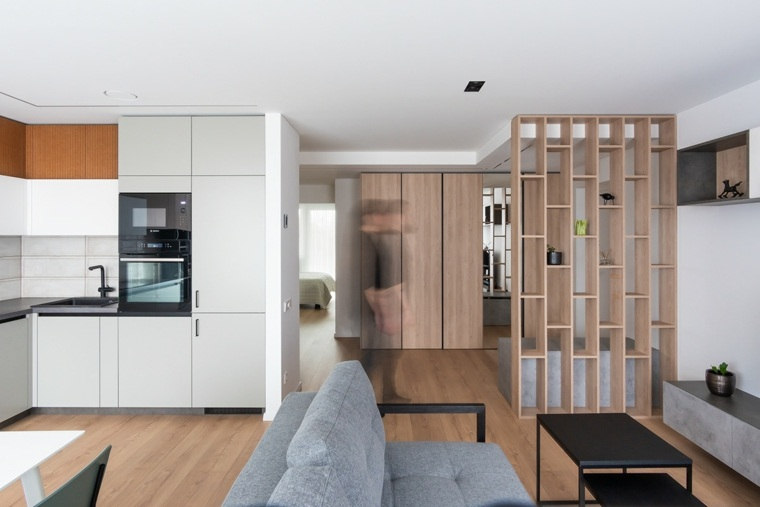 pared-madera-separar-ambientes-ideas