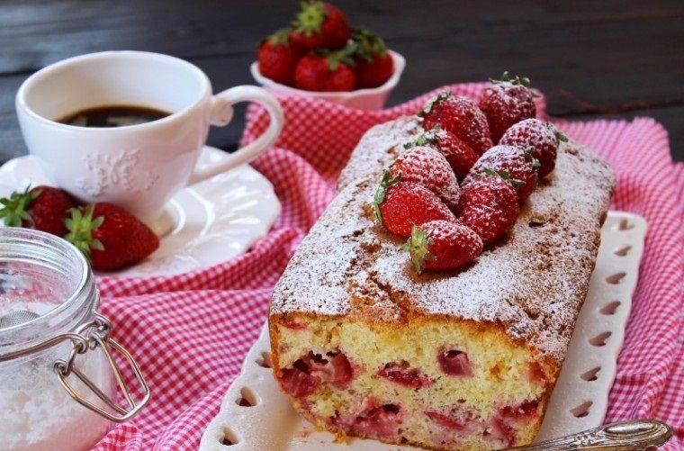 postres san valentín pan fresa