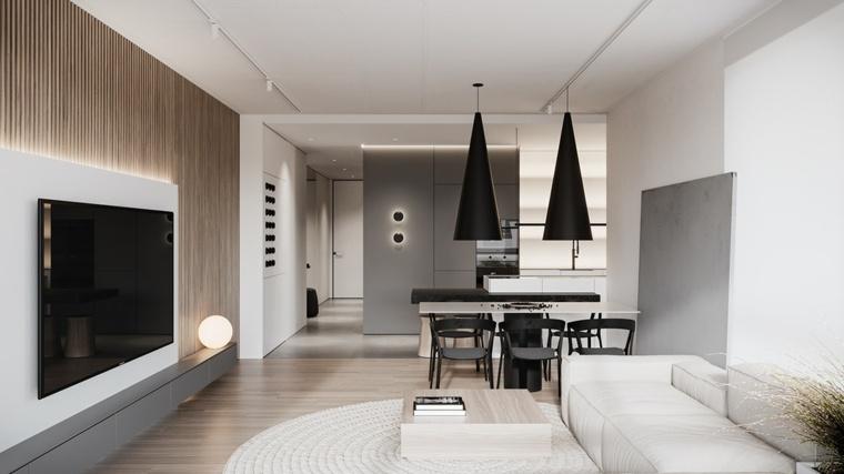 sala-cocina-blanco-gris-estilo