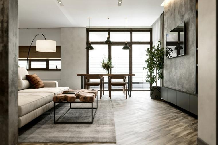 sala de estar moderna contemporanea-ideas