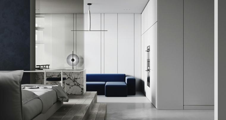sala de estar moderna decoracion-simple