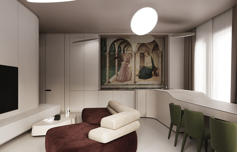 sala de estar moderna estilo-alta-tecnologia