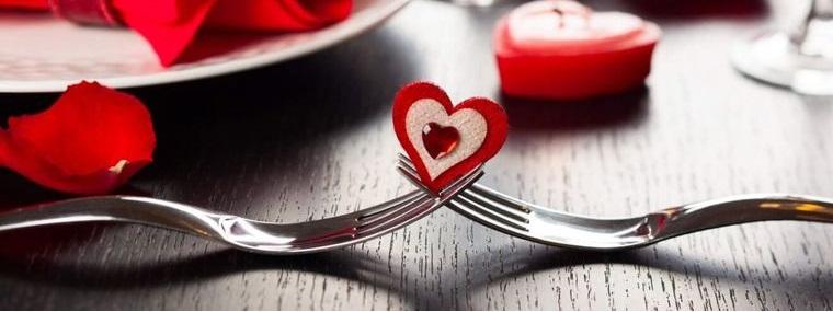 san valentín cena italia