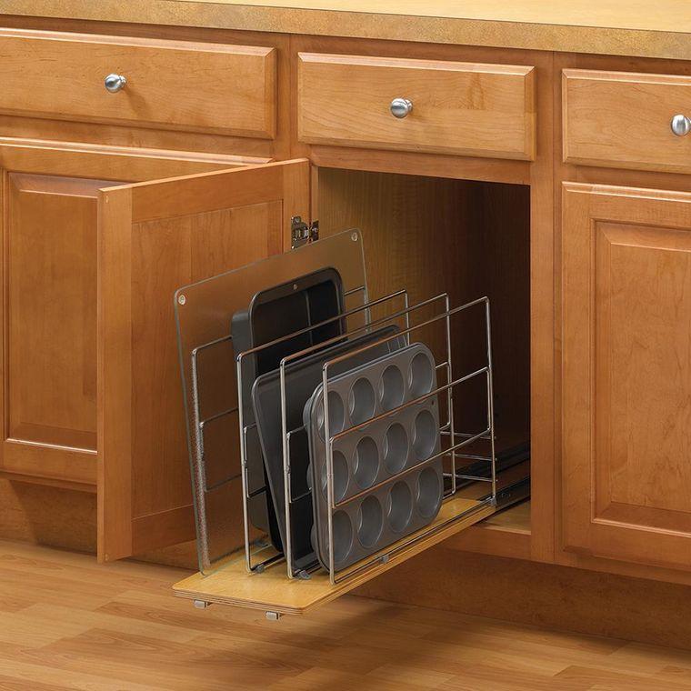 sistemas de almacenamiento bandeja horno