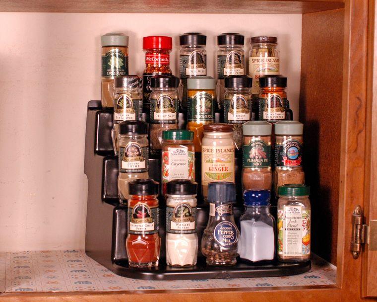 sistemas de almacenamiento condimentos