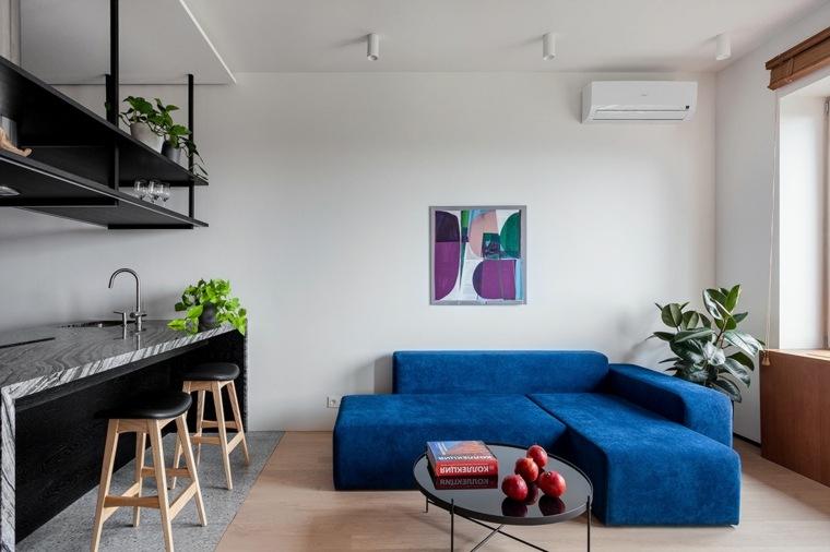 sofa-azul-sala-estar-ideas
