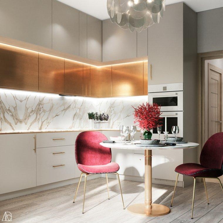 tendencias cocinas 2020-comedor-mismo-espacio