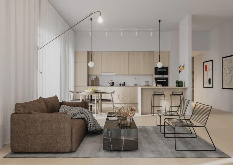 tendencias cocinas 2020-estilo-madera