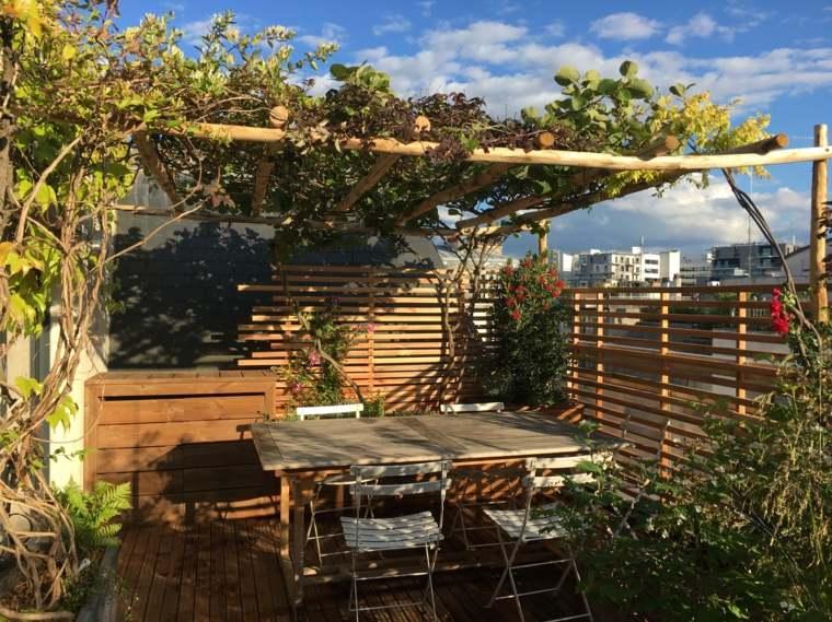 terrazas-balcones-decoracion-pergola-madera