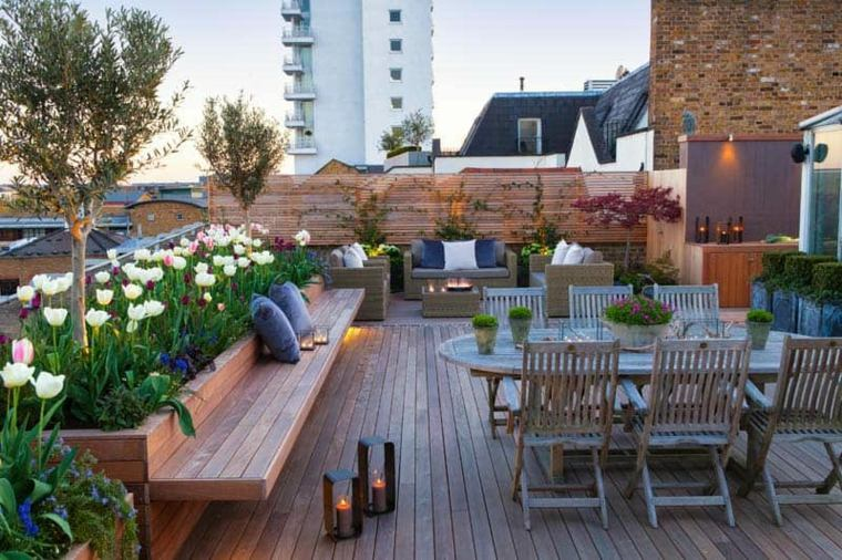 Terrazas y balcones decorados segun las tendencias de 2020