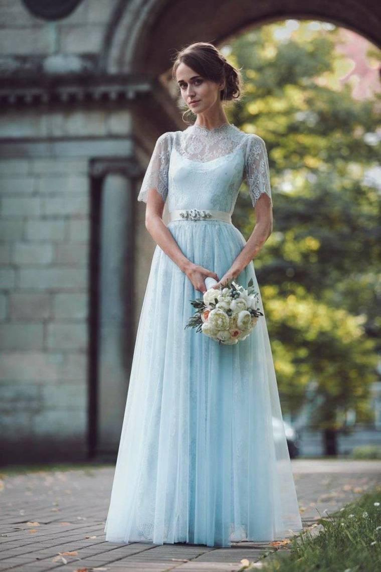Vestidos de novia 2020-color-azul