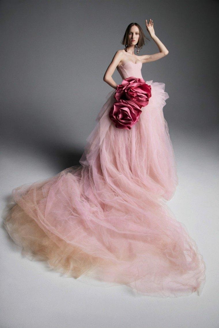 Vestidos de novia 2020-color-rosa