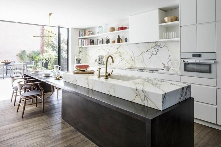 acentos-marmol-isla-estilo-ideas