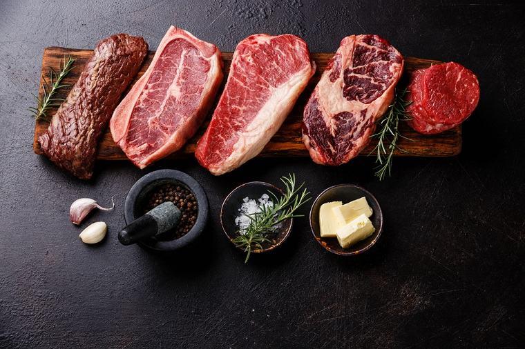 Alimentos ricos en zinc-carne