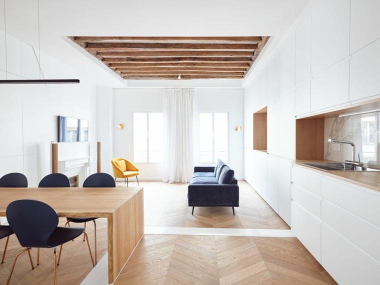 Apartamento en París recientemente reformado por JCPDR Architecture