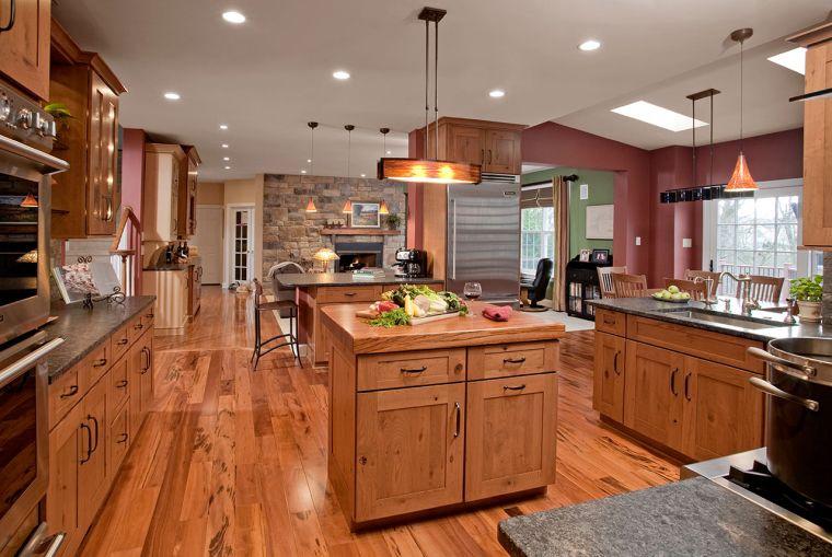 cocina-elegante-muebles-madera