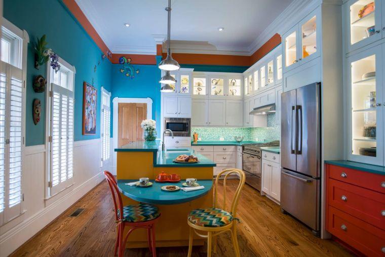 cocina-paredes-azules