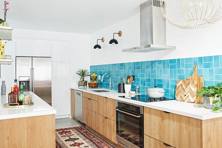 cocinas pequeñas azulejos