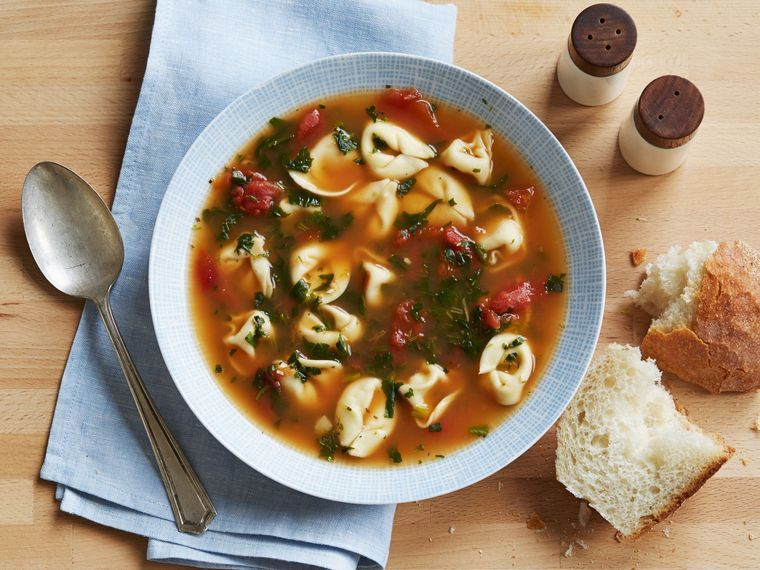 comidas fáciles sopa espinaca
