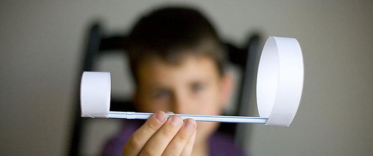 Cómo entretener a los niños en casa avion