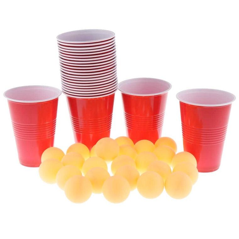 Cómo entretener a los niños en casa-bolas-vasos