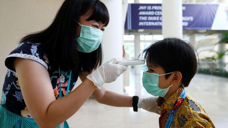 coronavirus escaner termico