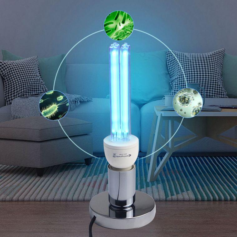 coronavirus lampara uv