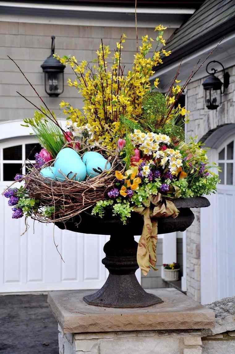 decoración primavera exterior
