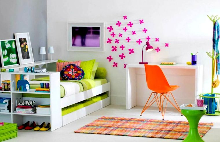 dormitorios infantiles claros