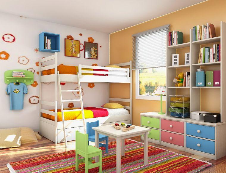 dormitorios infantiles colores