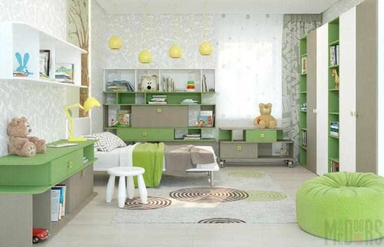 dormitorios infantiles comodos