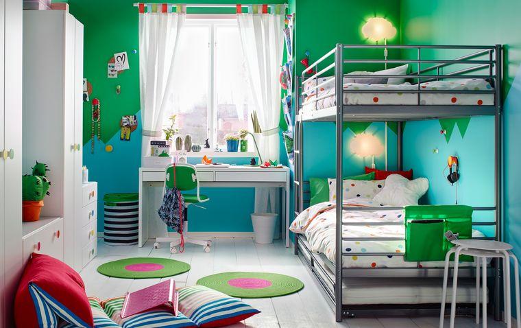 dormitorios infantiles compartido