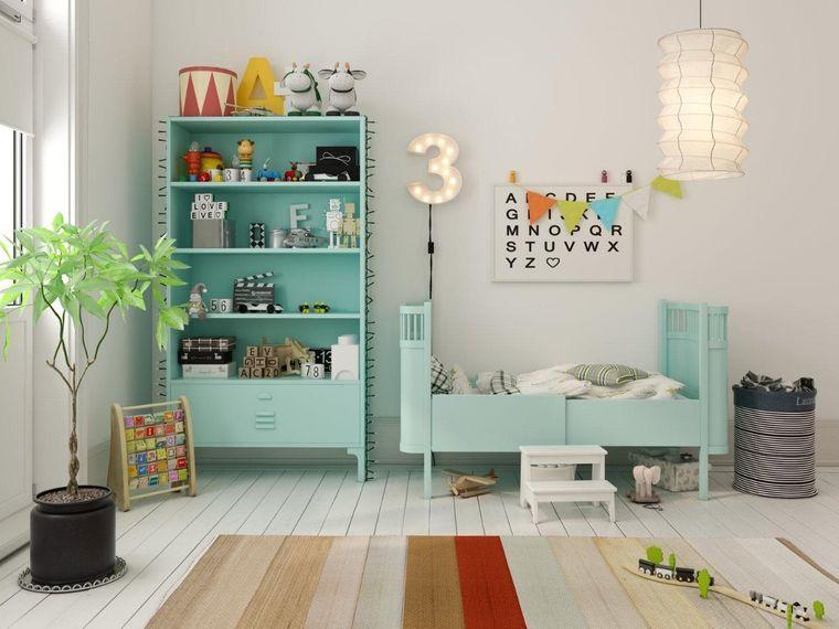 dormitorios infantiles con planta