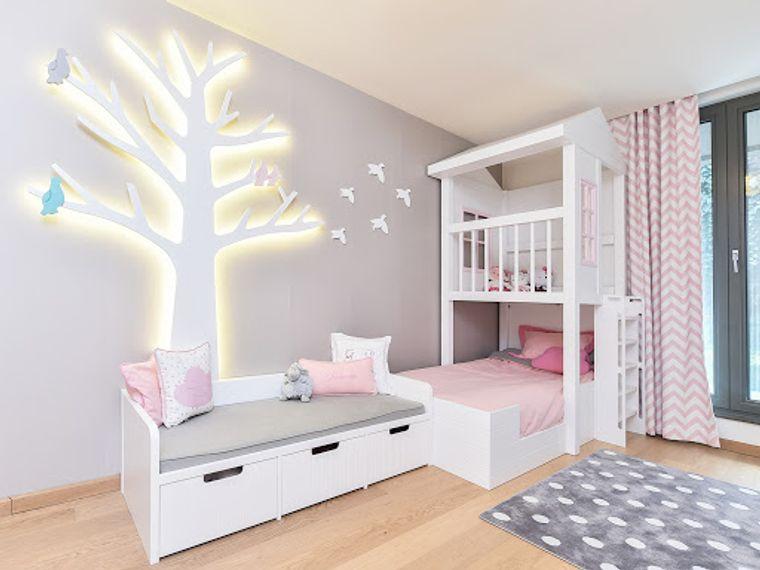 dormitorios infantiles iluminacion
