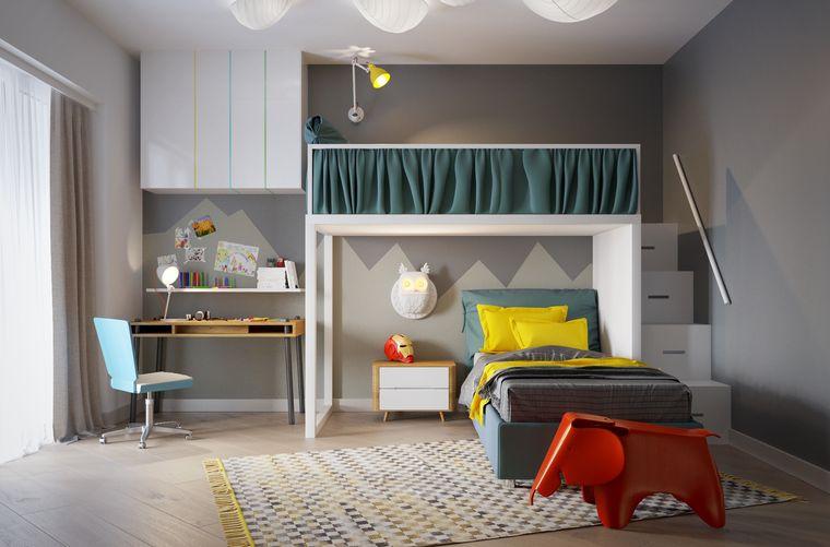 dormitorios infantiles neutro
