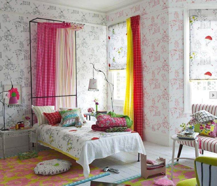dormitorios infantiles paredes