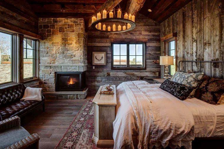dormitorios rustica