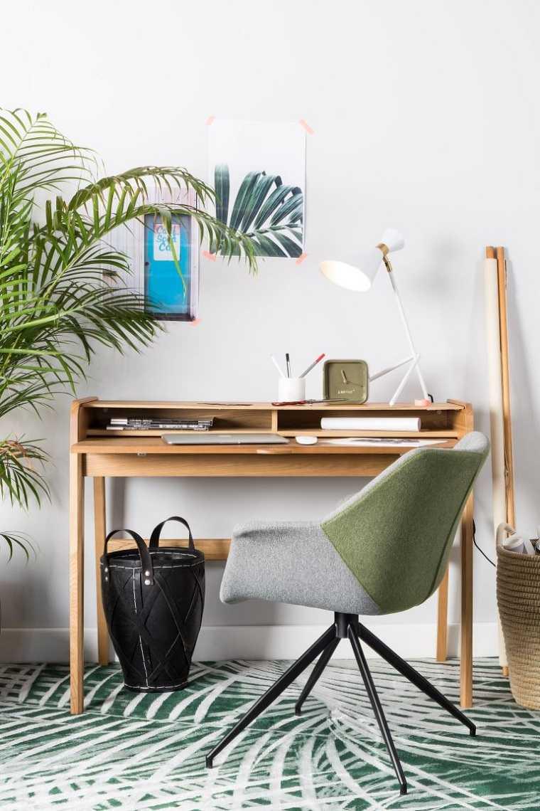 escritorio-pequeno-madera-ideas