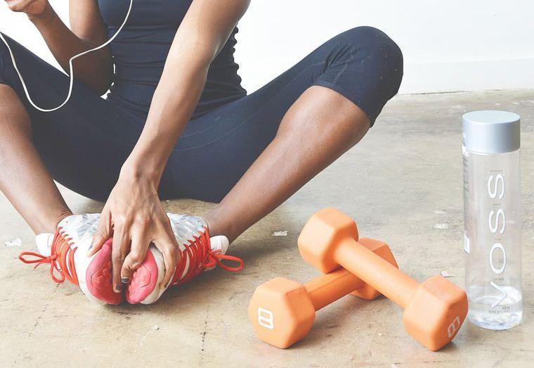 estar en forma ejercicio