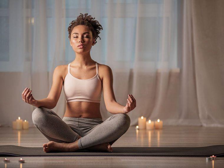 estar en forma meditar