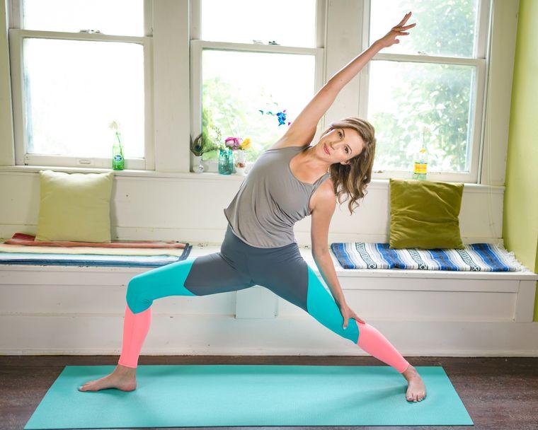 estar en forma yoga sencillo