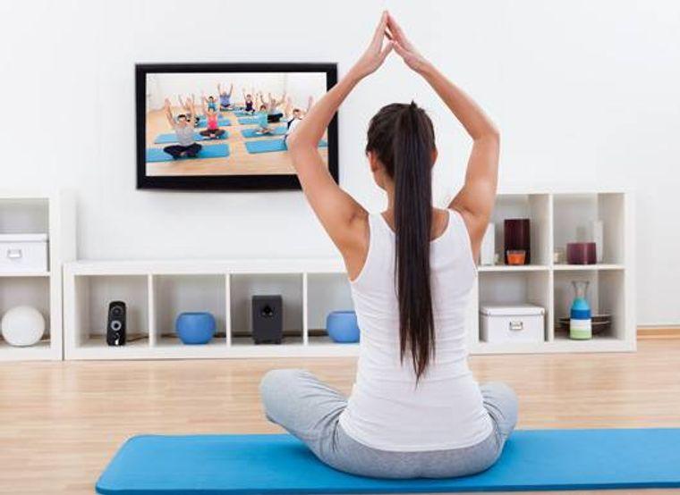 estar en forma yoga