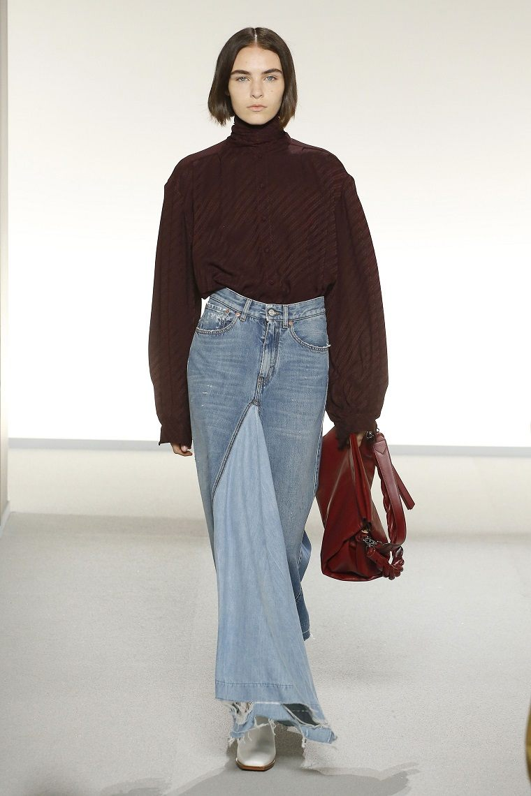 faldas-de-moda-2020-denim-Givenchy