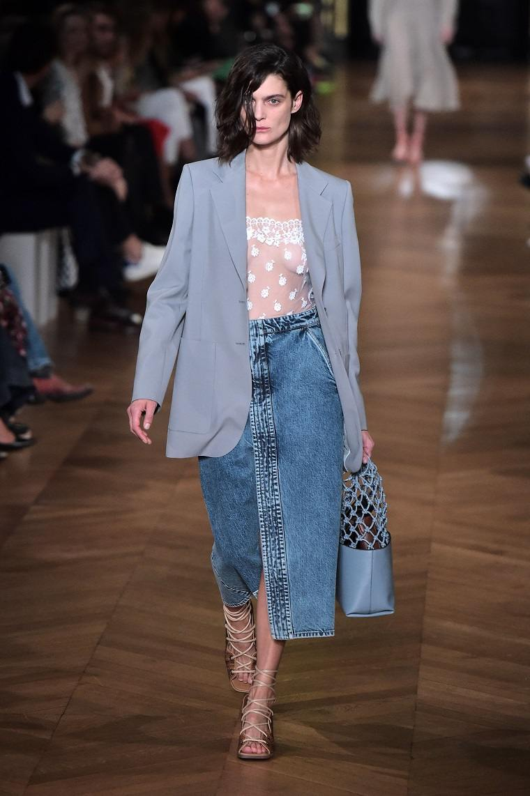 faldas-de-moda-2020-denim-Stella-McCartney