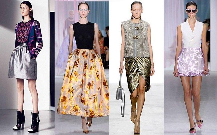 faldas de moda-Dior-Giambatista-Valli-Prabal-Gurung