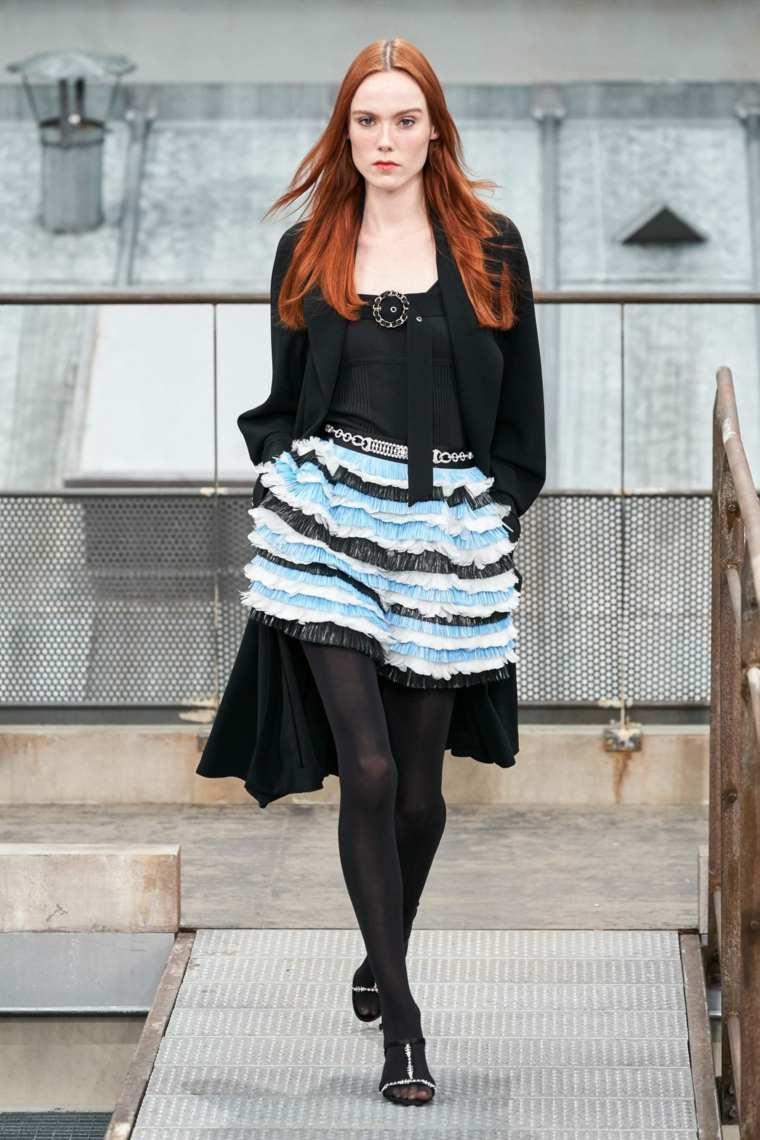 faldas-moda-volantes-Chanel