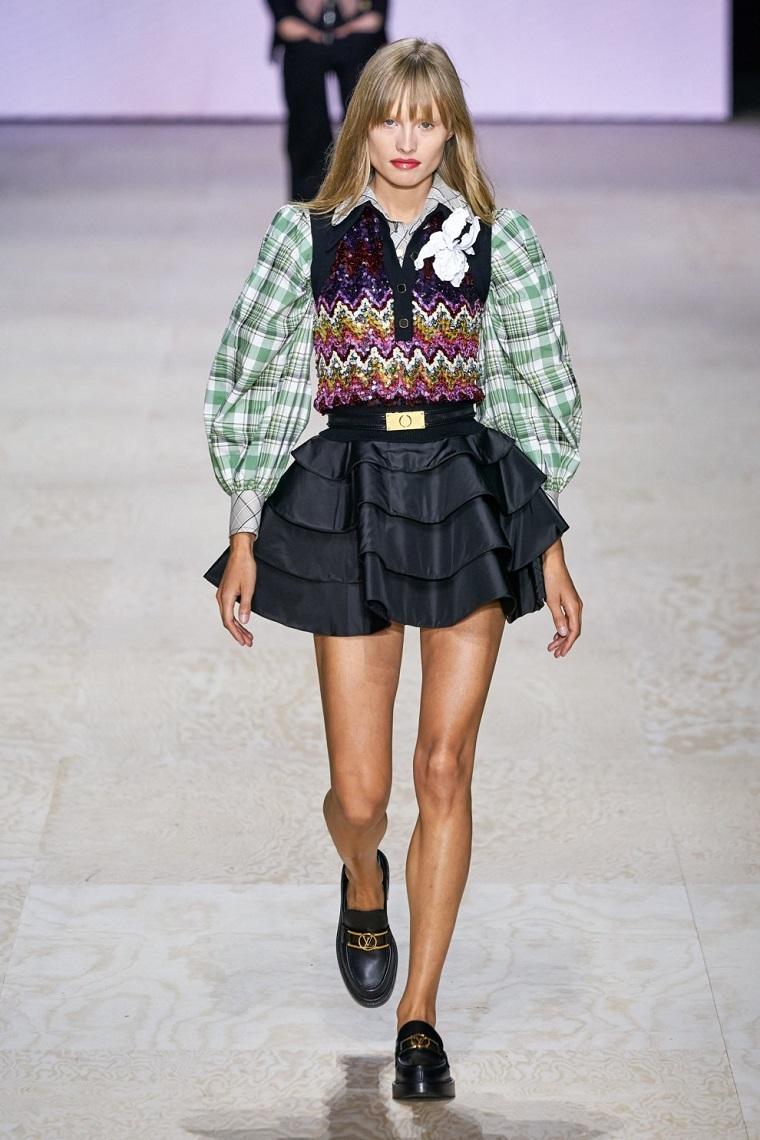 faldas-moda-volantes-Louis-Vuitton