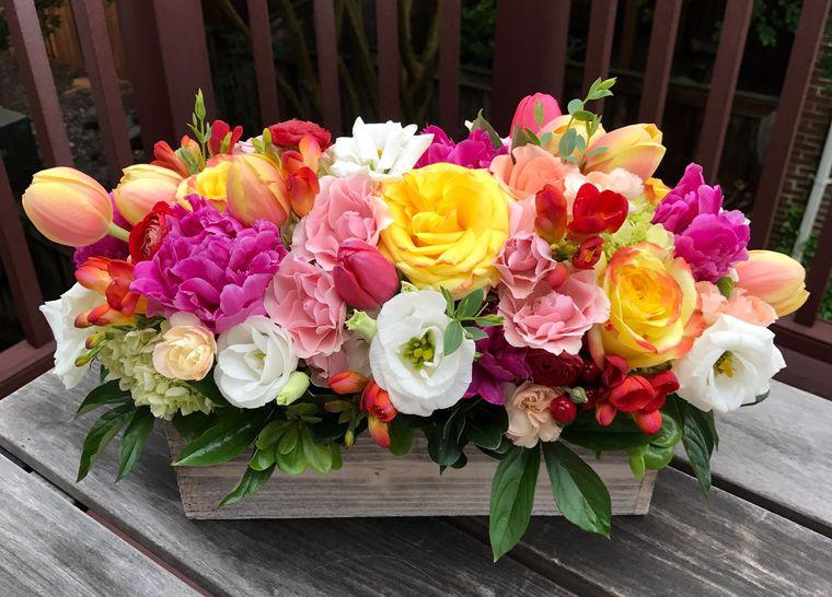flores de primavera adorno
