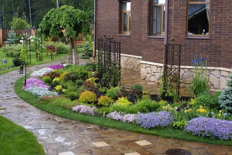 Flores perennes-jardin-ideas-casa